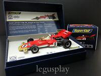 Slot SCX Scalextric Superslot Legends H3657A Lotus 72 Tony Trimmer