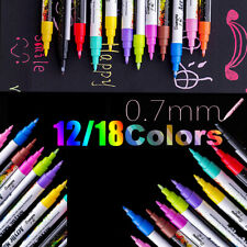12/18 Farben Acrylstifte Metalli...