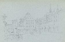 Originalzeichnungen (bis 1900) aus der Schweiz mit Bleistift