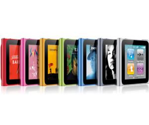 Apple iPod Nano 6th Generation 8GB 16GB All Colors Silver Space Gray Blue Green