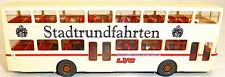 LVG Lübeck Double pont Traditions Bus imprimé MAN CARTE SD 200 off WIKING 1:87