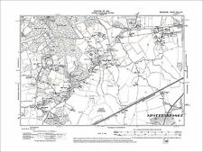 46NW Barkham Arborfield Cross old map Berkshire 1912
