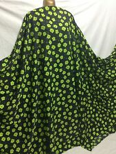 *NEW*100% L/weight Smooth Polyester Floral Print Dress/Craft Fabric*