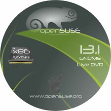 SUSE 13.1 - 32 or 64 Bit BOOTABLE DVD Linux OS