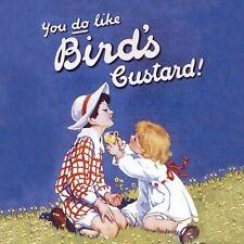Coaster BIRD'S CUSTARD Household Brands Vintage Retro gift New