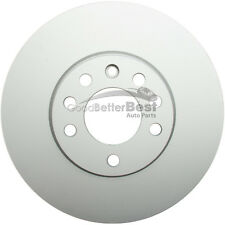 One New ATE Coated Disc Brake Rotor Front 2411257119102 for Saab Saturn