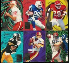 1994 FLEER ULTRA FOOTBALL FLAIR WAVE OF THE FUTURE COMPLETE INSERT SET 1-6