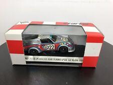 1:43 TSM Porsche 911 Carrera RSR Turbo #9 Martini & Rossi Racing 1974 Used