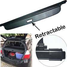 For 2007 2008 Honda Fit Black Luggage Tonneau Cargo Cover Security Trunk Shield