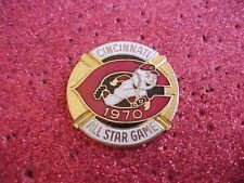1970 Cincinnati Reds All Star Press Media Pin  #