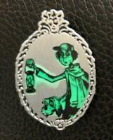 👻 The Haunted Mansion Gravedigger and Dog Walt Disney World GITD - Booster Pin