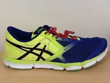Mens Asics 33 DFA Blue/Yellow T532N Running shoes trainers Size UK 11 EUR 46.5