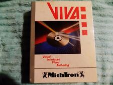 Vtg.MichTron NEW In Box VIVA FOR AMIGA VISUAL INTERFACED VIDEO AUTHORING