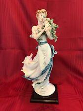 "Giuseppe Armani Figurine ""Belle� #1528C The Society Members Figurine 2002 Signed"