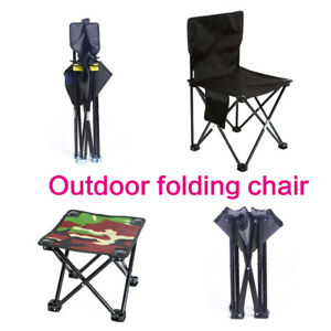 Small Seat Folding Camping Stool Portable Outdoor Mini Chair For Fishing Hiking