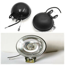 3'' 55W LED White DRL Round Car Driving Fog Lamp Tire Light Metal Paint Shell