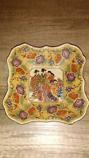 Plat, Coupelle, Assiette porcelaine Japon Fin XVIIIeme,geishas, Imari, Satsuma