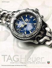 PUBLICITE ADVERTISING 045 1997 TAG HEUER   montre                         140415