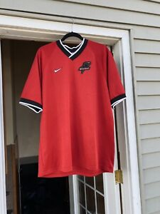vintage 90s Nike Dallas Burn MLS Soccer jersey
