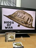 PlayStation 1 Hogs of War game PAL ps1 rare Complete And Tested