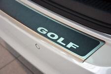 VW Golf 7 VII Variant bis 2017 AluNox Titan Ladekantenschutz Abkantung LOGO