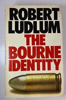 The Bourne Identity by Robert Ludlum 1980 1st Edition HC. UK Version RARE in US!