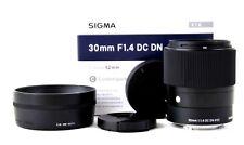Sigma 30mm 1:1.4 DC DN  (Sony E-Mount)