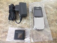 Original Nokia 8800 Edelstahl Silber wie NEU Ausstellungsgerät NEUWERTIG LIKENEW