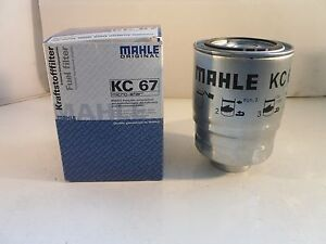 Mahle Fuel Filter KC67 Fits Ford LDV Nissan
