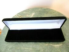 Deluxe High Quality Black Velvet Empty Box For Display Bracelet Necklace Watch