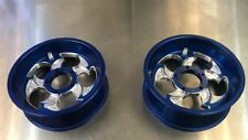 Goped Pocket Bike 66/72mm Billet Slayer Rims-Blue