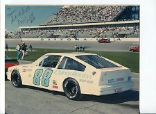 David Probst NASCAR Stock Car Driver Signed Autograph Photo
