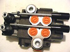 valve hydraulique de contrôle la main 2-fach 50 L / pour cylindres a double