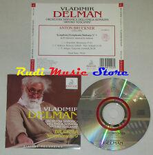 CD VLADIMIR DELMAN Symphony 9 BRUCKNER orchestra arturo toscanini lp mc dvd