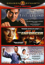Fist of Legend/The Enforcer/Tai Chi Master (DVD,2011,3-Disc Set) Jet Li Collect.