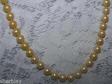 Vintage Costume Jewelry Glass Bead Strand Necklace 22""