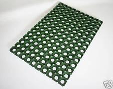 BN Heavy Duty Rubber Ring doormat Green 58cm x 39cm Outdoor mat