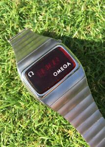 Omega Constellation Time Computer / Digital 2 LED Vintage Watch 1975
