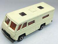 Matchbox Lesney Superfast No 54 Mobile Home - Cream - Near Mint