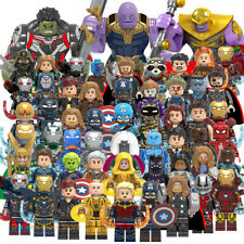 200+ Marvel Avengers Minifigures Iron Man Mark Batman Hulk Super Heroes Toy