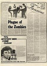 Zombies Plague Of MM4 Fanzine 1974
