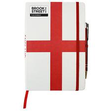England Flag Notebook - Hardback A5 - Cross of St George - English Flag Journal
