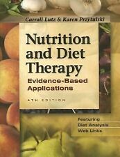 Nutrition and Diet Therapy: Evidence-Based Applications-ExLibrary