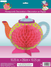 MAD HATTER Alice In Wonderland Party Honeycomb Centrepiece Table Decorations Tea