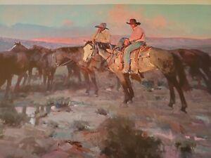 "JAMES REYNOLDS - ""ARIZONA COWBOYS"" - Ltd. Ed. #286/850 - Never Framed"