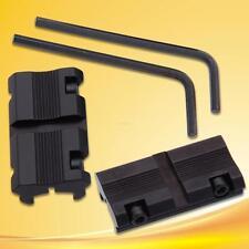 Zielfernrohr Montage Tactical 11mm Dovetail bis 20mm Weaver Picatinny Schiene