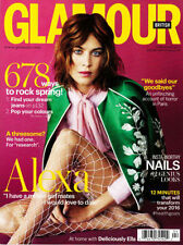 April Glamour Monthly Magazines