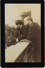 PHOTO VINTAGE : Albert & Gaston TISSANDIER Jacques DUCOM albumine Ballon captif
