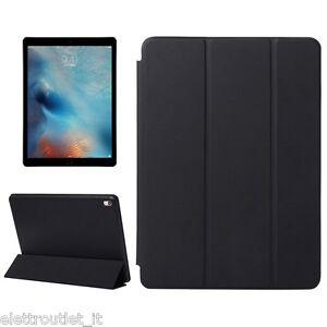 CUSTODIA Integrale per Apple iPad AIR 2 9.7 Nera SMART COVER SUPPORTO