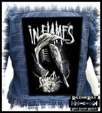 IN FLAMES - Sounds of a Playground Fading --- Huge Jacket Back Patch Backpatch